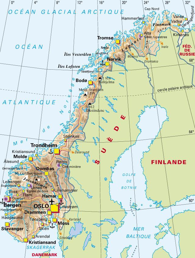 Notre Voyage En Norvege 2008